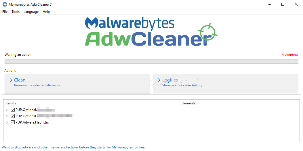 adwcleaner softpedia