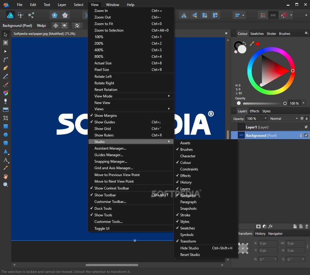 Download Affinity Designer 1 7 1 404 / 1 7 2 434 Beta