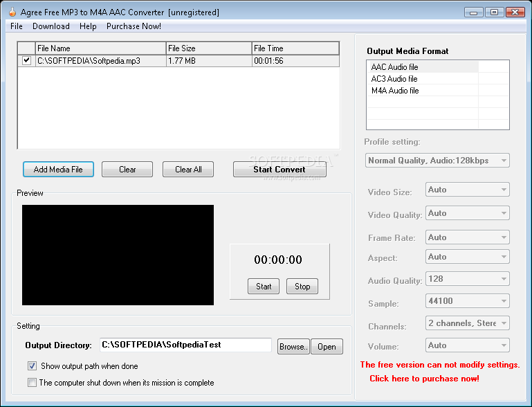 convert m4a to mp3 free download