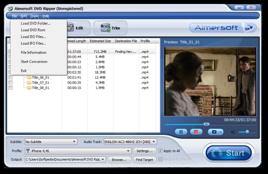 aimersoft dvd ripper 3.0.0 registration code