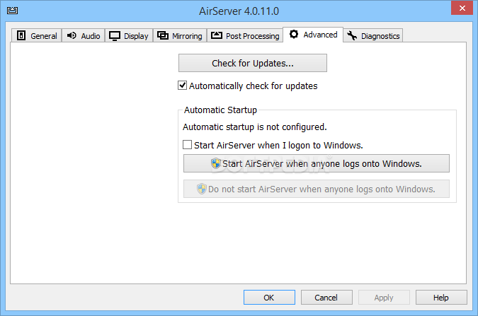 airserver universal free download