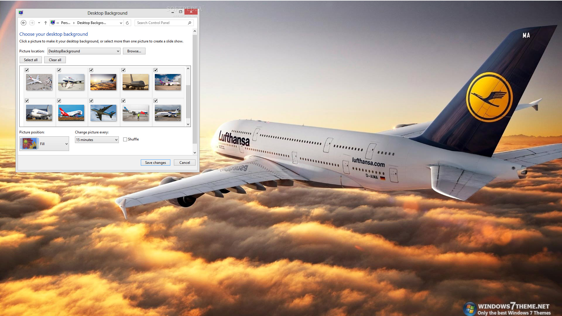 airbus a380 windows 7 theme 1