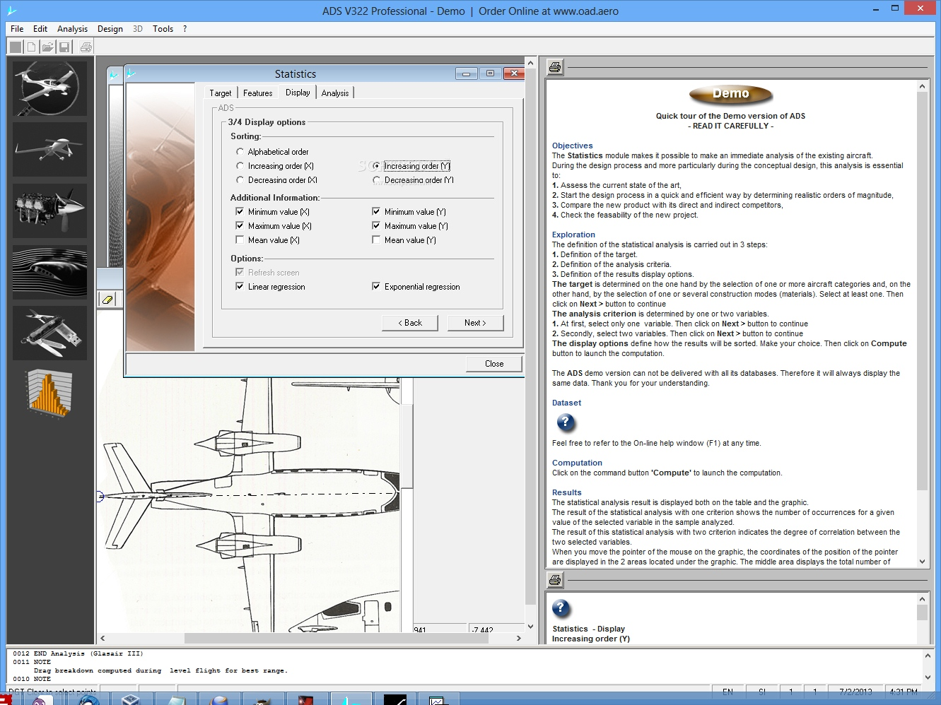 Download Aircraft Design Software Professional Ads 322