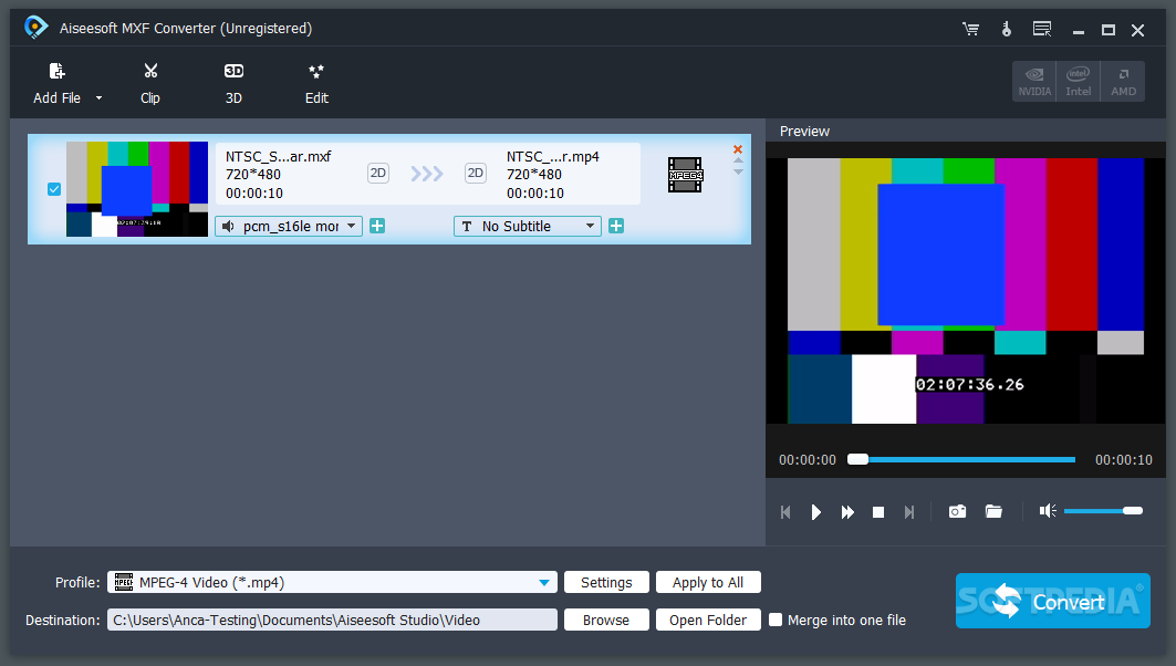 Download Aiseesoft MXF Converter 9 2 28