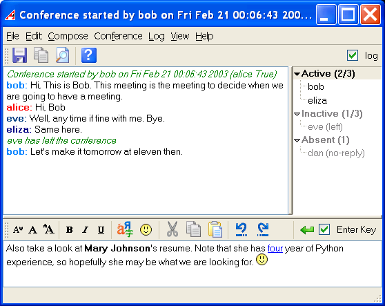 Instant Messages For Business : Akeni jabber client xmpp corporate im download
