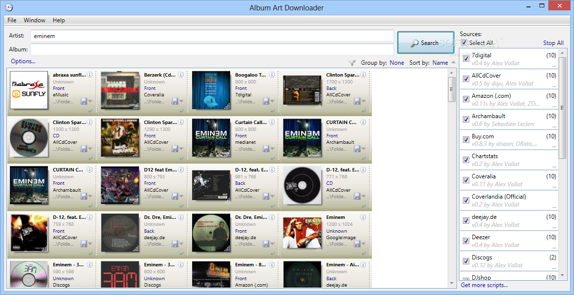 automatic album art downloader android