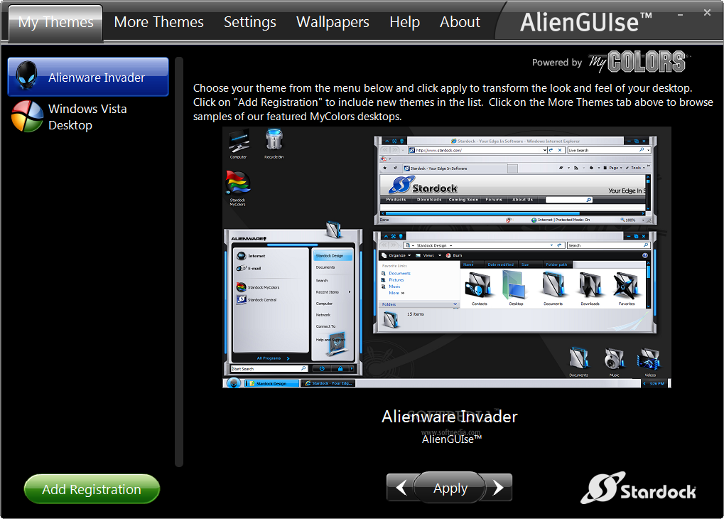 alienguise windows 7