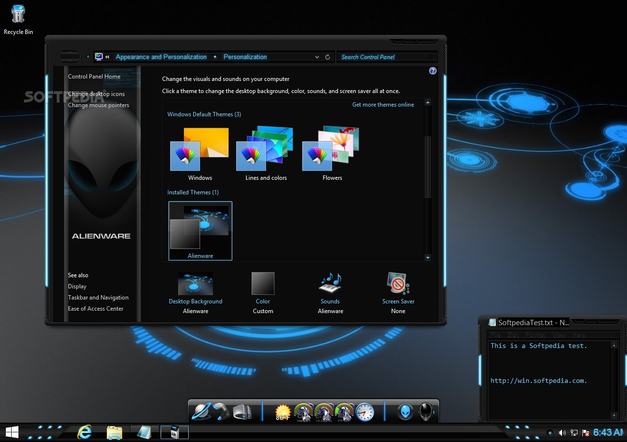alienware themes for windows 7 ultimate 32 bit free download
