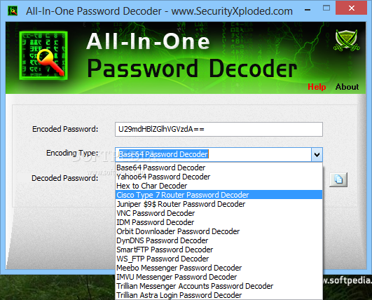 Download All-In-One Password Decoder 7 5