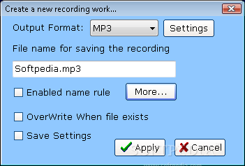 All sound recorder xp