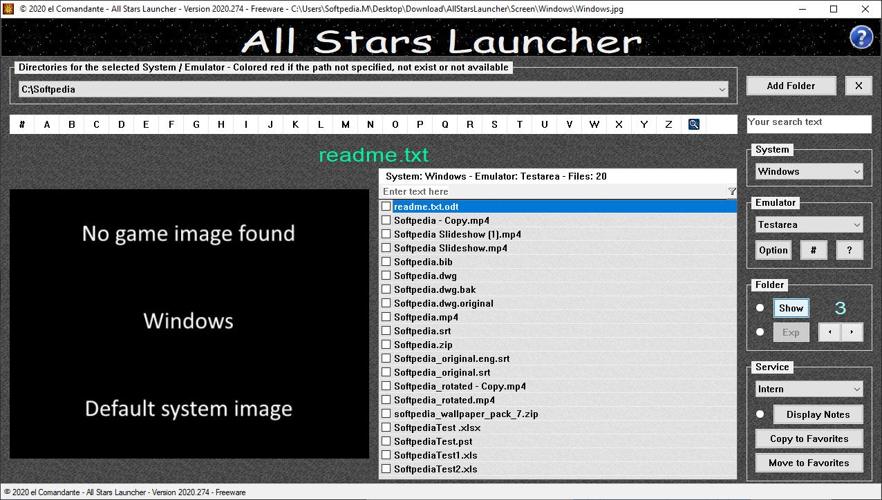 All Stars Launcher screenshot #0