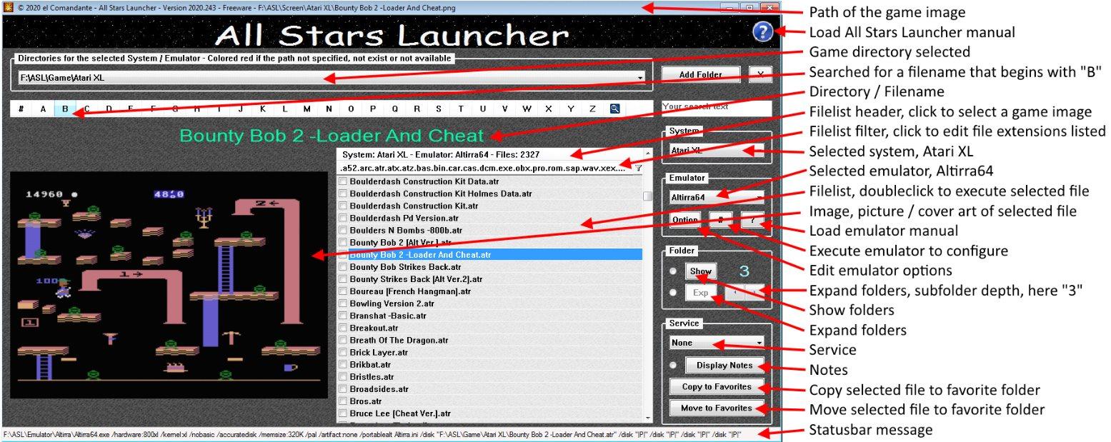 All Stars Launcher screenshot #1