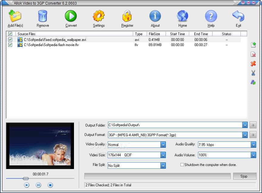 logiciel 3gp allok