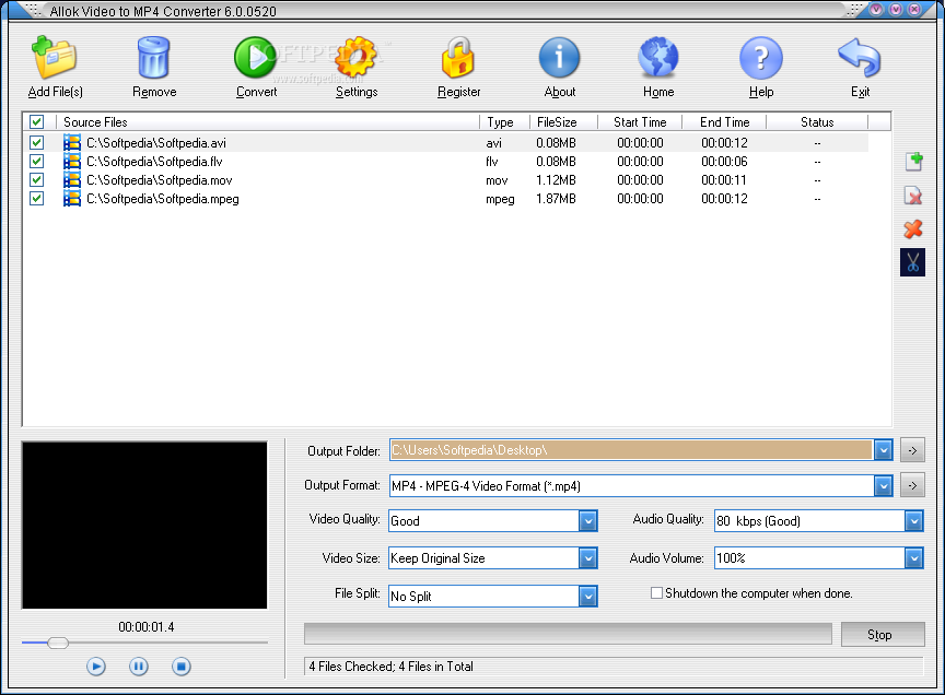 Mov to mp4: free mov to mp4 converter on mac or windows pc.