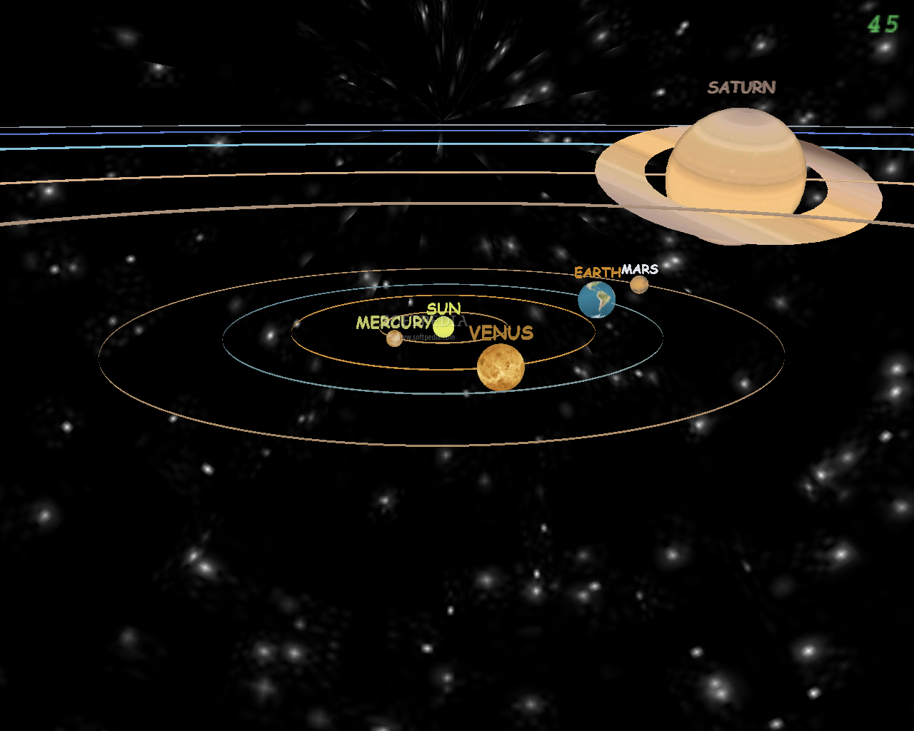 solar system of 3 d - photo #19