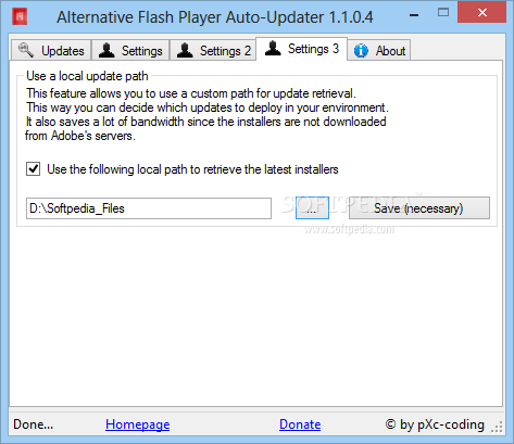 Adobe Flash Player Replacement