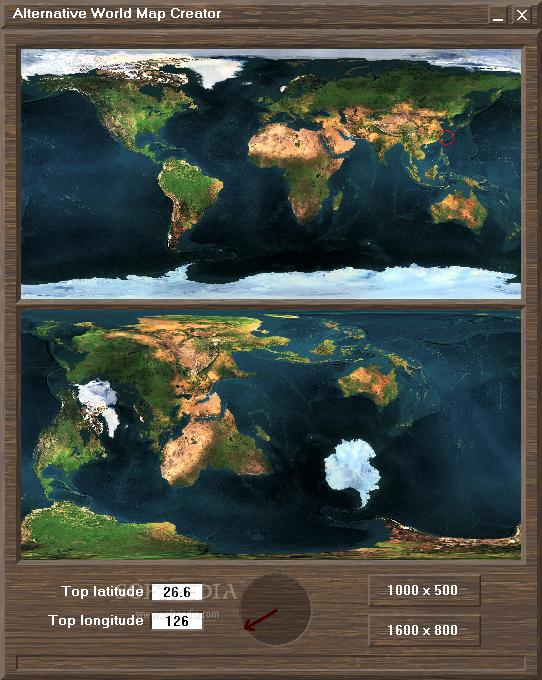 Download Alternative World Map Creator 1.0.1