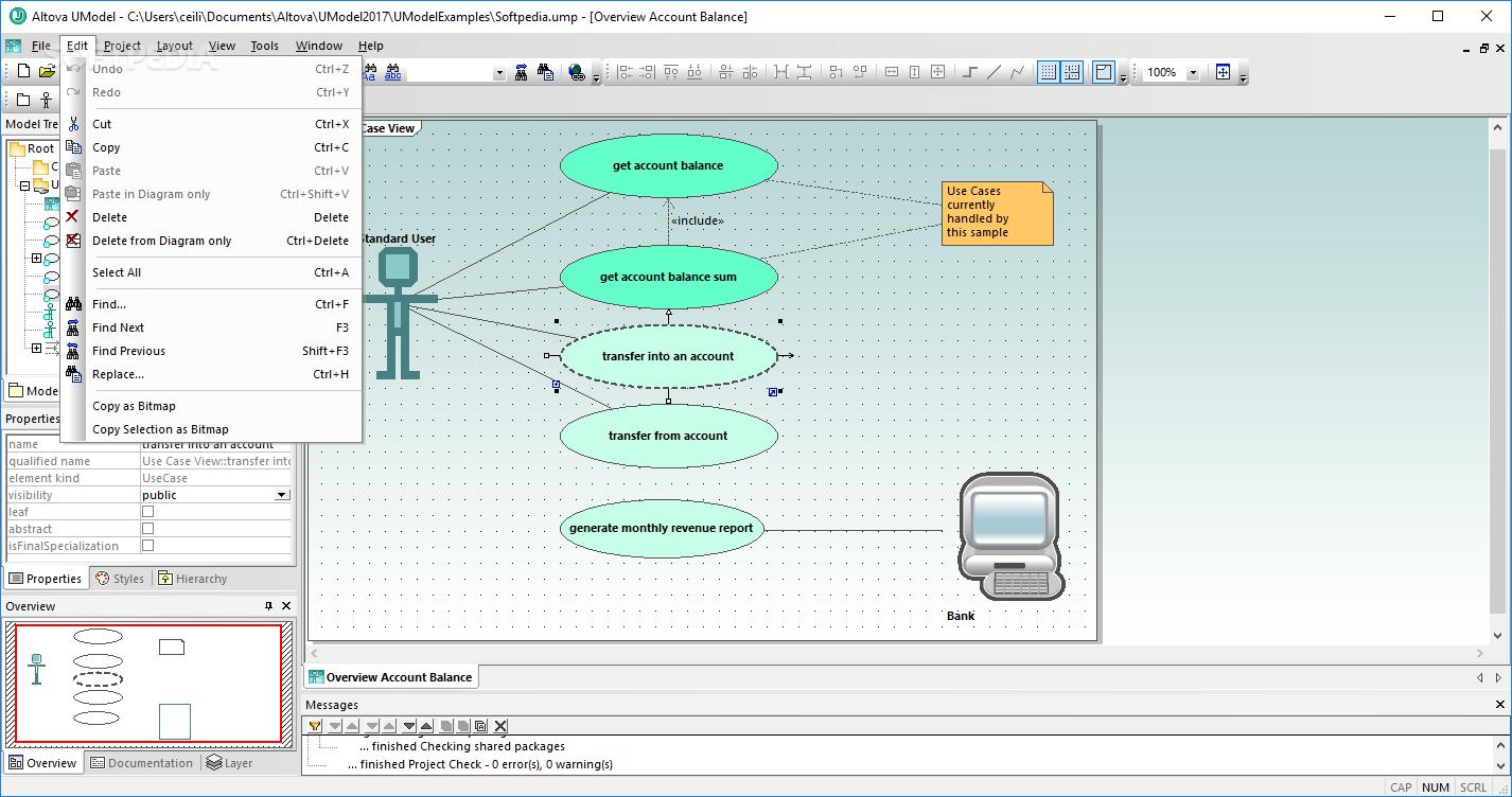 Download Altova Umodel Enterprise Edition 2019 Diagram As Well Bpmn Collaboration Diagrams On Database Tools