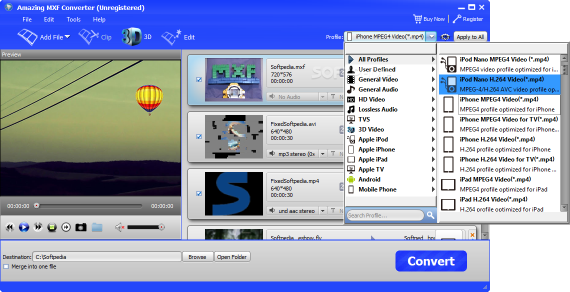 Download Amazing MXF Converter 11 8