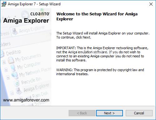 Download Amiga Explorer 7 0 1