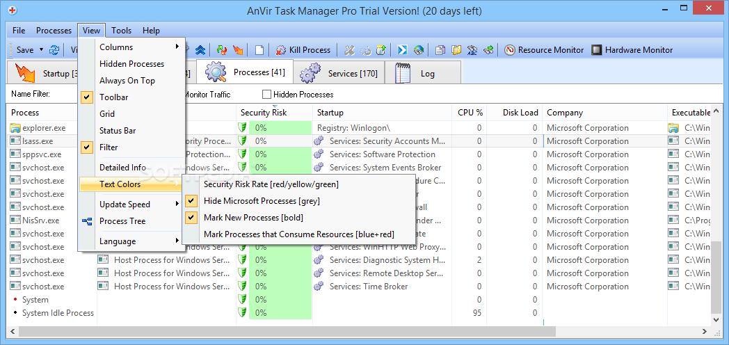 Download AnVir Task Manager Pro 9 3 3