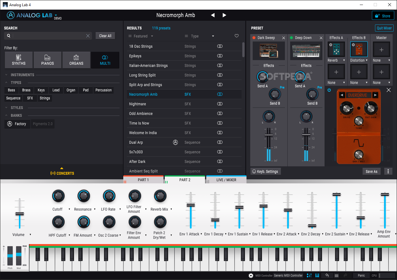 Aturia Analog Lab 4 v4.1.0.3413 (MAC) Free Download