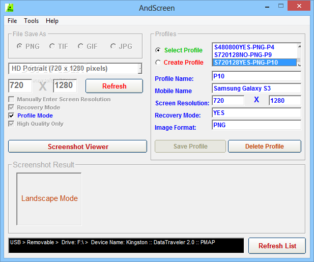 Download AndScreen 1 2 0