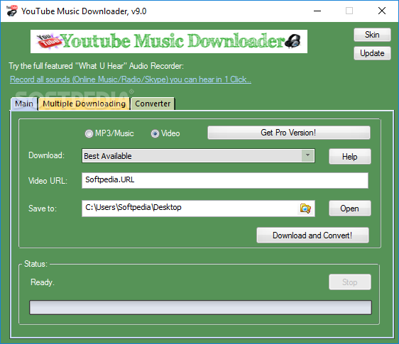 Download YouTube Music Downloader 9 3