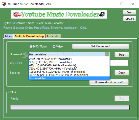musique youtube vdownloader