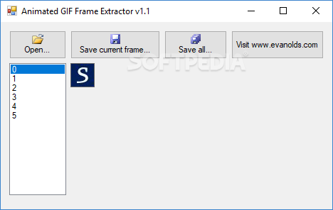 Download Animated Gif Frame Extractor 1.1