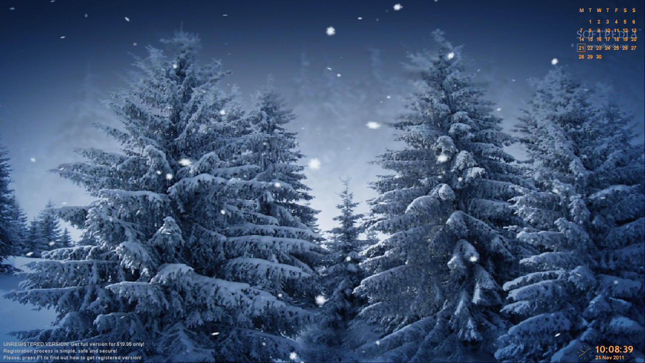 Animated snowflakes screensaver download - Free screensavers snowflakes falling ...