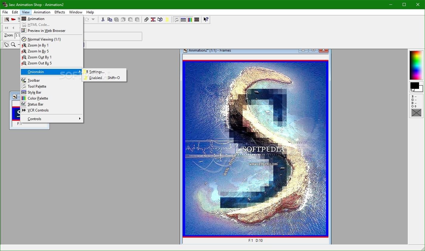 ANIMATION SHOP 3.05 TÉLÉCHARGER