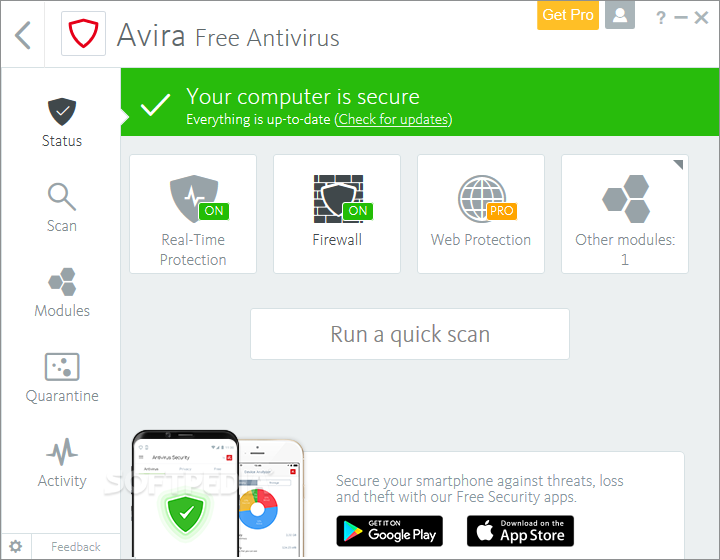 Avira Antivirus For Windows