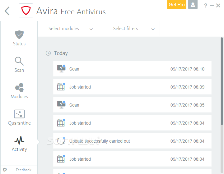 Download Avira Free Antivirus 15 0 1908 1579