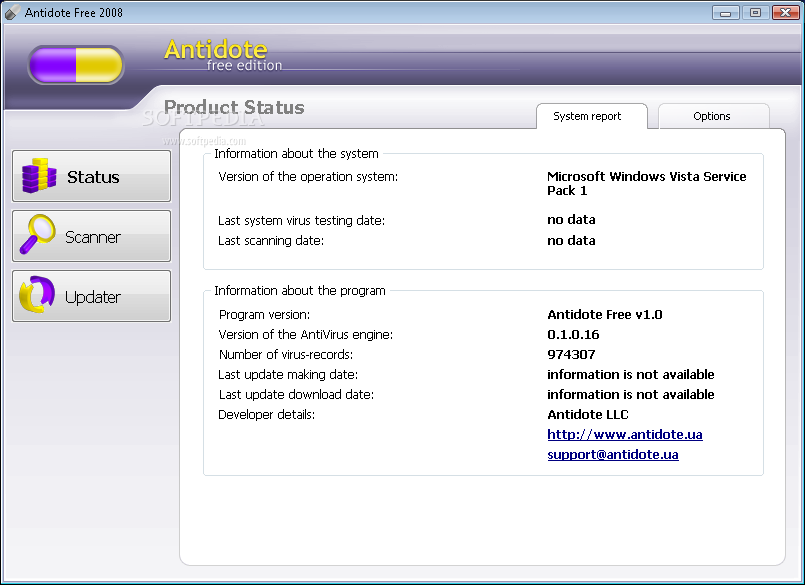 Download Antidote Free 2008 1 0