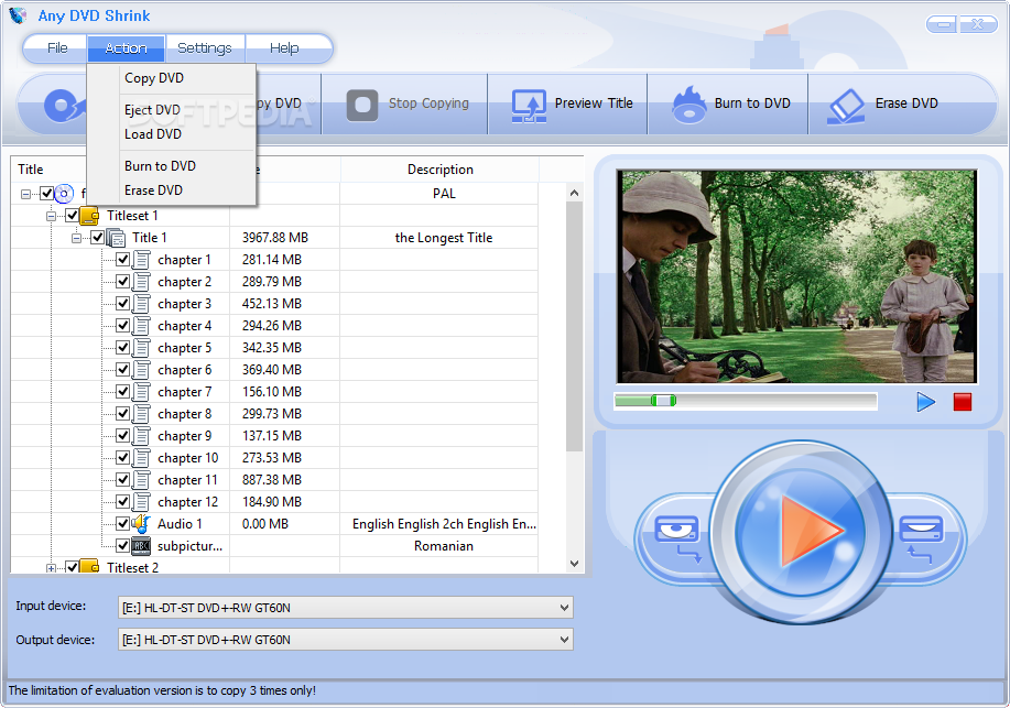 dvd writing software