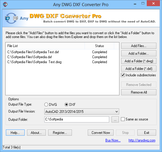 Download Any DWG DXF Converter Pro 2019