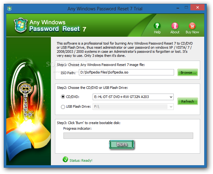 Download Any Windows Password Reset 7.0 Build 1887 incl