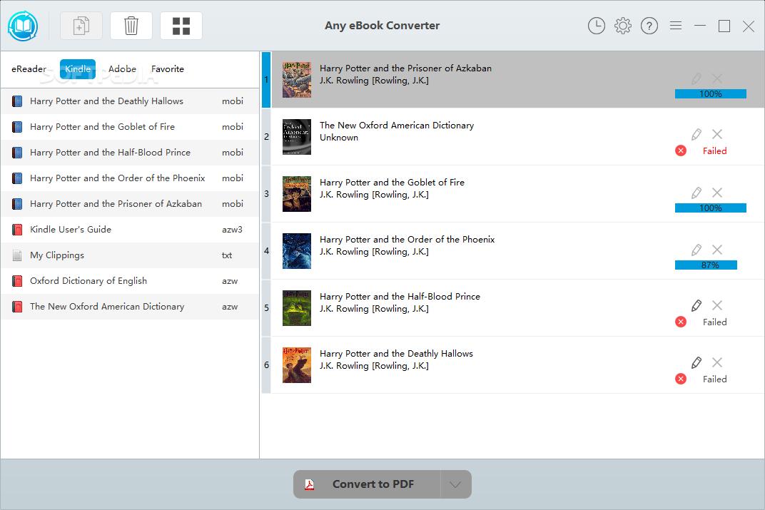 azw3 to pdf converter download