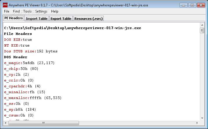 Download Anywhere PE Viewer 0 1 7