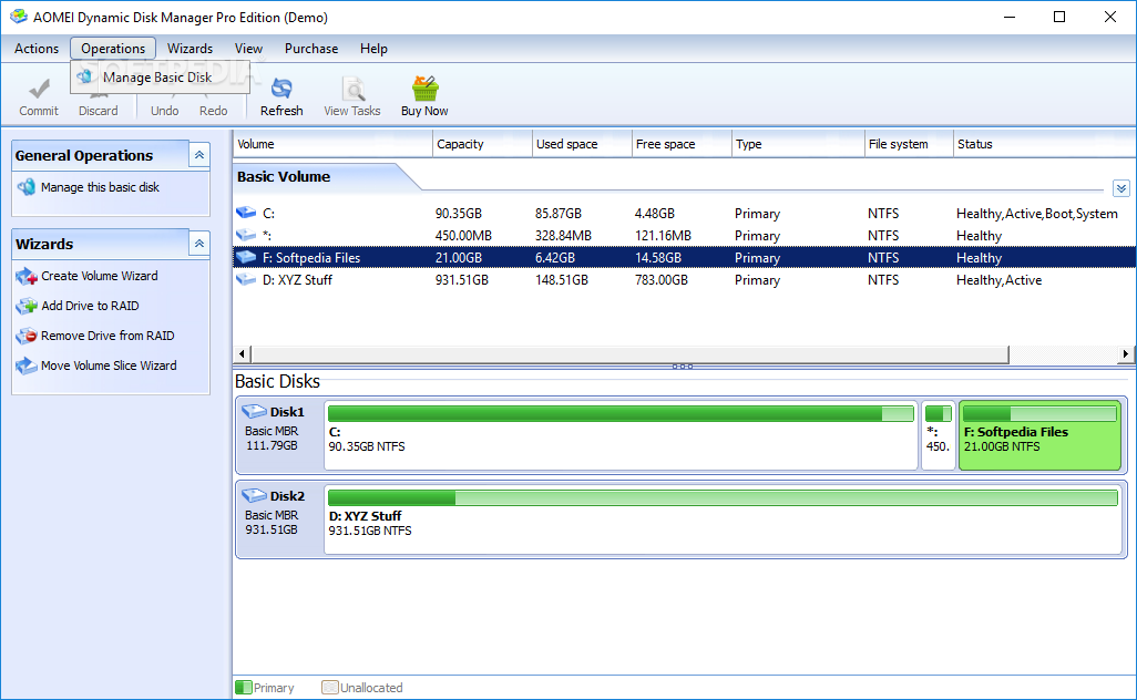 aomei dynamic disk manager full