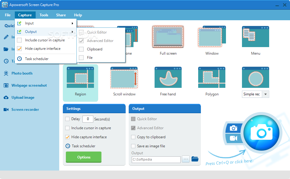 Apowersoft Screen Capture Pro 1.4.8.1 多國語言免安裝