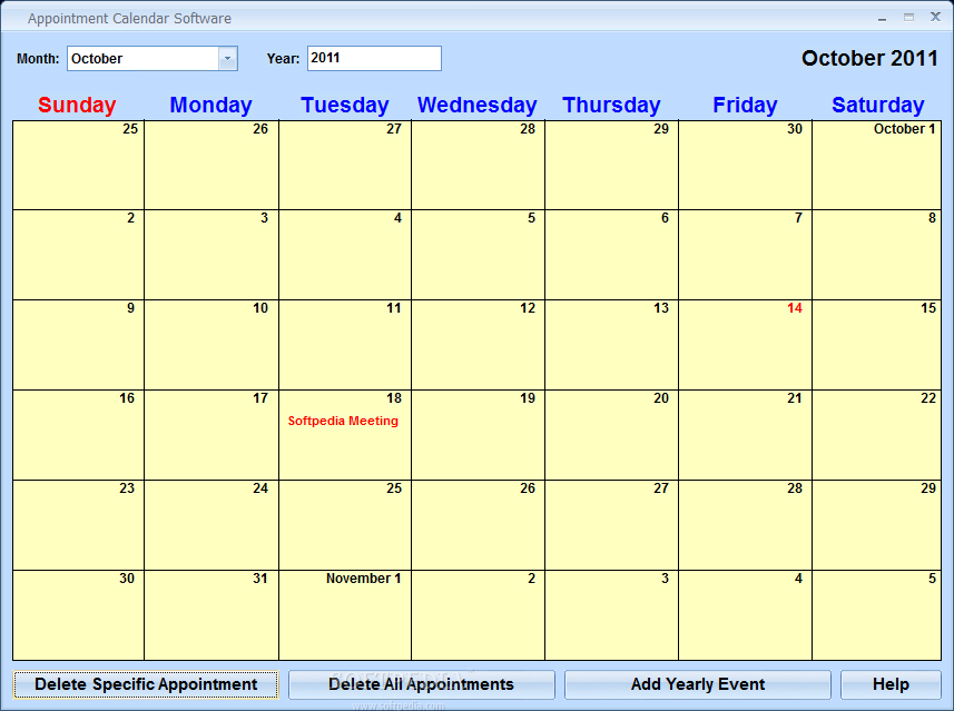 download appointment calendar software 7 0