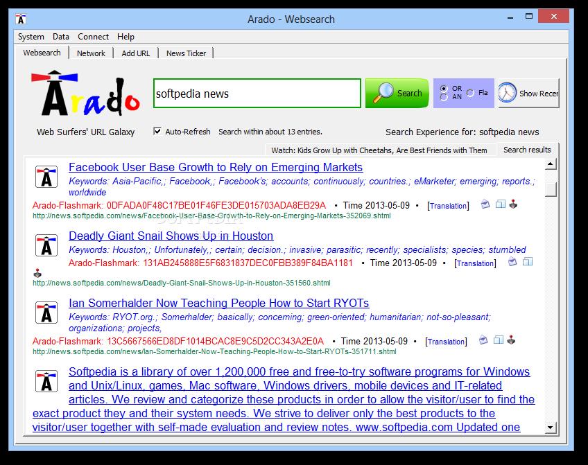 Download Arado - Websearch 0.2.1