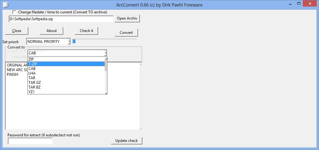 Free open source rar, zip, cab, 7z, tar converter   diggfreeware. Com.