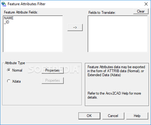 Arcv2CAD screenshot 2 - The Layers Control window will provide users with a list of options like Single Layer or Palace entities on separte Layers by classification