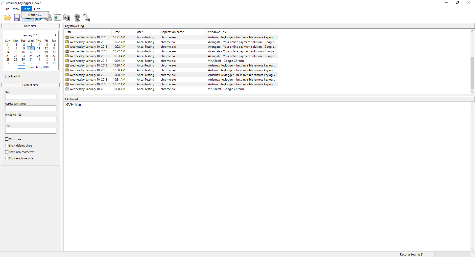Download Ardamax Keylogger 5 0