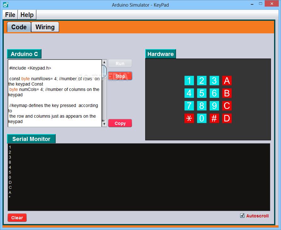 Arduino emulator