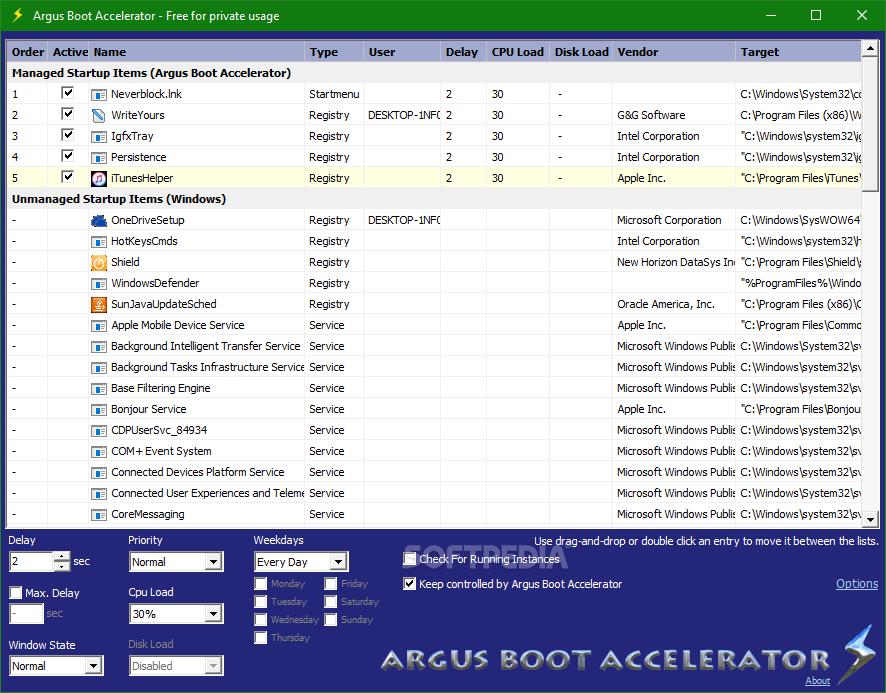 Download Argus Boot Accelerator 1 0 02 Build 1005