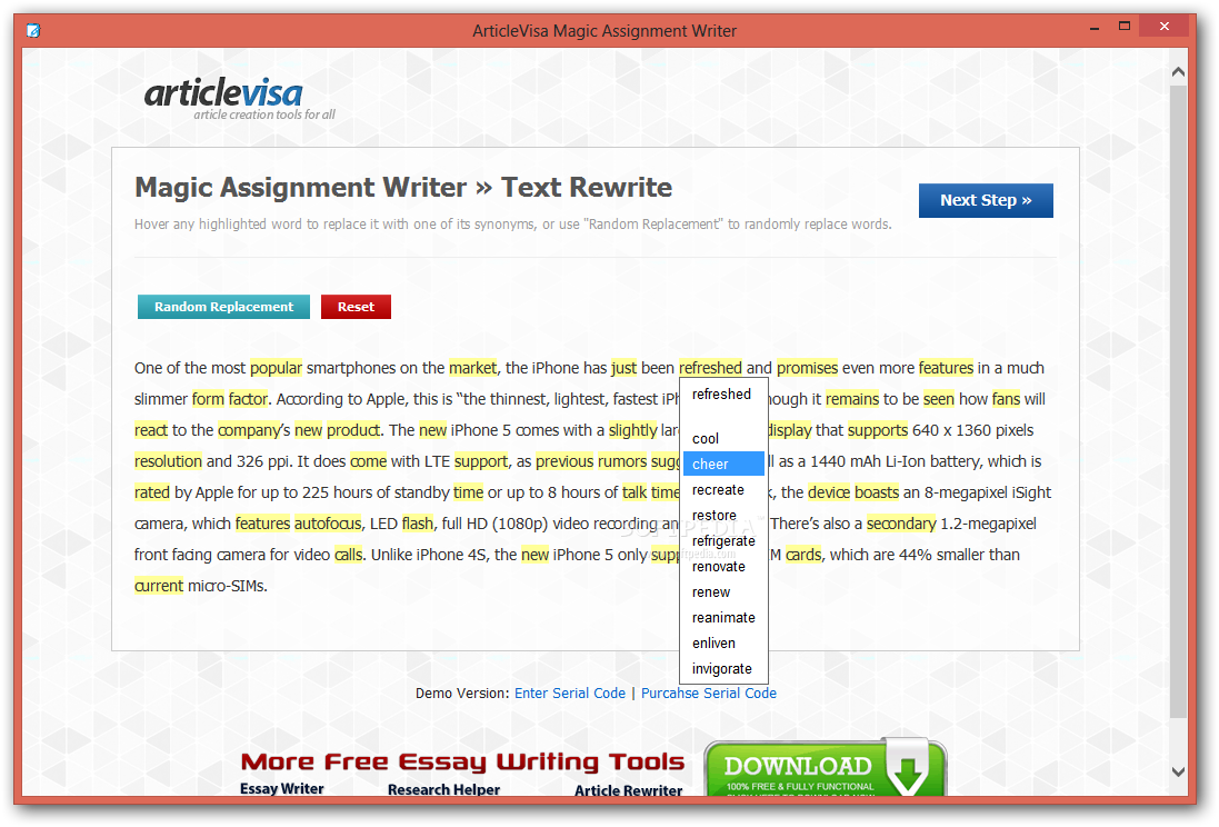 how to get certain words highlighted on an article